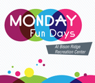 Monday Fun Day activities start Oct. 21