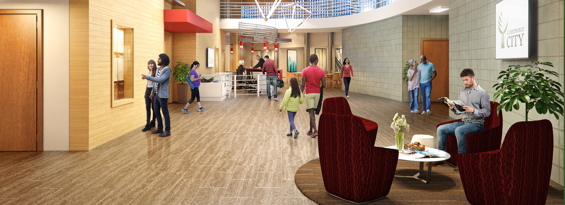 Eagle Pointe Lobby Rendering